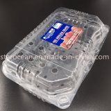 クラムシェルの赤い種なしブドウのためのプラスチックパッキングギフト用の箱ペットボックス