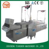 Cuajada de habichuelas y queso de soja y alimentos de preparación rápida que hacen la máquina y que fríen la máquina