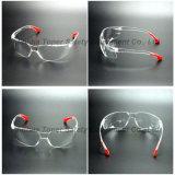 De lichtgewicht Bril van de Veiligheid van de Stootkussens van de Benen van de Lens van het Polycarbonaat Zachte (sg102-1)