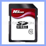 Volles Capacity 16GB Sdxc Class 10 Standard Sd Card Speichergerät