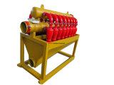 Desarenador del lodo de perforación de la eficacia alta de China para el fabricante del campo petrolífero