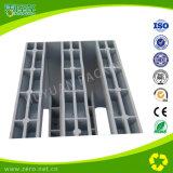 Material de palete de plástico usado para logística e transporte com HDPE