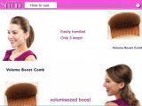 Hot Fashion Women Clip de cheveux Styling Bun Maker Braid Tool Accessoires de cheveux Comb