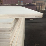 Madera de la madera contrachapada de la base del álamo para el uso del embalaje de la paleta (18X1220X2440m m)