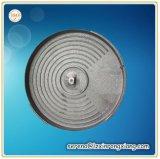 熱い版を投げる鉄の鋳造物のグリルの発熱体の鉄