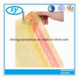 Мешок погани шнура притяжки LDPE HDPE пластичный устранимый
