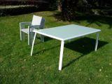 Im Freien Patio-Patio-Schnittmöbel PET Weidenrattan-Sofa-Set