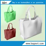 Saco de compra não tecido relativo à promoção do Tote do saco para o supermercado
