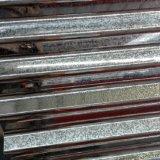 0.12-0.8mm plein G550 dur ont ridé la plaque en acier galvanisée par feuille de toiture