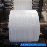 Tissu 60GSM tubulaire tissé par polypropylène blanc en gros