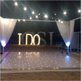 Popular occidental LED Dance Floor centelleo decoración de la boda de la estrella