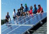 Poly 50W Chine a fait le panneau solaire de débit de transmission élevé