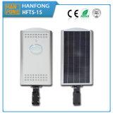 15W integriertes Solarstraßenlaternedes garten-LED