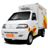 A60 Eléctrica Frigorífico Caminhão com bateria de lítio