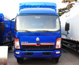 La Cina Sinotruk HOWO 4*2 140HP 10ton Van Container Light Medium Cargo Truck (ZZ5167CPYG4715C1)