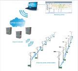 情報処理機能をもった都市街路照明の自動制御システム/スマートな制御キャビネット(XLDL-8001)