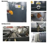 машина металлического листа 8X3200mm гидровлическая режа, машина плиты режа