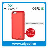 Caso externo de reserva de la potencia de batería de la venta de la tapa una de China para el iPhone 6