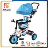 Bicicleta do triciclo do bebê da cor vermelha da venda por atacado da fábrica de China