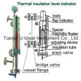 Индикатор Bi-Color магнитного поплавка ровный - ровный метр уровня Калибровать-Воды