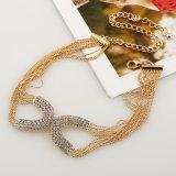 De nieuwe Diamant van de Manier parelt Halsband