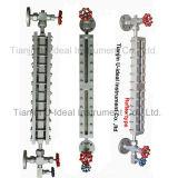 Reflex-/transparentes flaches Anblick-Glas-flüssige Stufen-Messinstrument/waagerecht ausgerichtetes Anzeigeinstrument