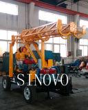perforación de roca caliente de la venta los 300m hecha a máquina en la plataforma de perforación de la base de la exploración de China