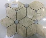 Скачками плитка мрамора камня мрамора искусствоа для украшения стены или снаружи