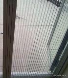 Maglia pieghettata pp dell'animale domestico/maglia dello schermo dell'insetto finestra del pieghettato