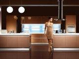 2017 gabinetes de cozinha elevados modernos da laca do lustro do estilo novo (zz-066)