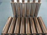 Pantalla envuelta alambre de la ranura de Ss316L 25micron para el equipo de Filteration del agua y del petróleo