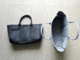 Kundenspezifischer Formtote-Filz-Beutel mit Außenseiten-Vorderseite-Tasche