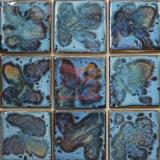 Fambe fatto a mano lustrato mosaico di ceramica (CST255)