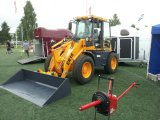 Машинное оборудование Инджиниринг затяжелитель колеса 2 тонн (ROPS/FOPS, CE, EPA)