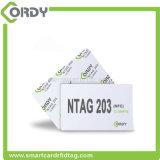 tarjeta de visita Promoción de 13,56 MHz de PVC RFID MIFARE NTG213 NFC