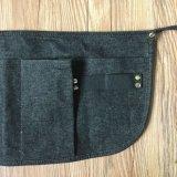 Delantal resistente de la herramienta del dril de algodón de la venta al por mayor del delantal de la cintura para el jardín
