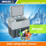 La sede di pesca inscatola il mini frigorifero autoalimentato solare