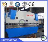 Máquina de dobra da placa de aço do CNC e da imprensa hidráulica do CNC freio