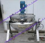 Bouilloire revêtue de bac Stirring planétaire de la Chine de pâte d'encombrement faisant cuire la machine