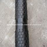 Aço galvanizado 6 da lista de preço '' 5/8 de filtro do poço da tela/água do entalhe da ponte do entalhe de 0.75mm para o poço profundo