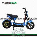 Motocicleta elétrica acidificada ao chumbo com bateria escondida
