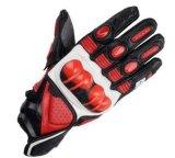 Чисто кожаный перчатки участвуя в гонке перчатки мотоцикла