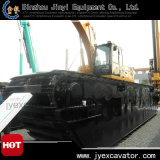 Sumpf Excavator mit Undercarriagre Pontoon Jyae-47