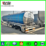 3 petrolero de aluminio del árbol 42000L para el aceite de mesa del transporte