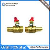 Connecteur rapide en laiton convenable hydraulique et pneumatique