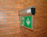 Luz de la salida de emergencia del LED