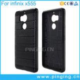 Caisse dure de téléphone d'armure hybride pour Infinix zéro 4 X555