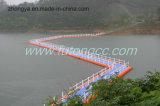 Marca de fábrica famosa del puente pontón de flotación