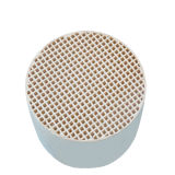 150mm Industrial Exhaust Gas Purification Cordierite Honeycomb Ceramic Substrate Carrier
