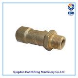 Parafusos de fixação de bronze por usinagem CNC